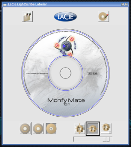 Schermata-LaCie LightScribe Labeler